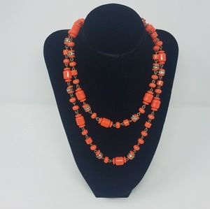 J. Crew Beaded Long Necklace